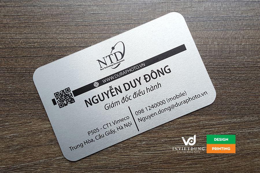 card visit trên giấy mỹ thuật cao cấp
