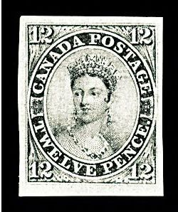 "Con tem ""12 Pence Black"" của Canad"
