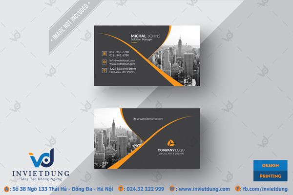 Mẫu name card psd