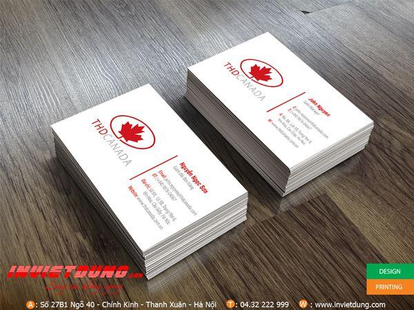 Card visit THD Canada