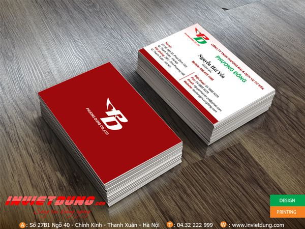 In Card visit đẹp - 13