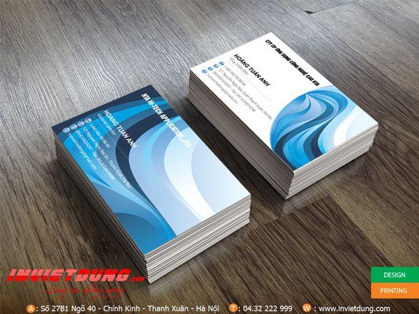 Card visit Công nghệ cao