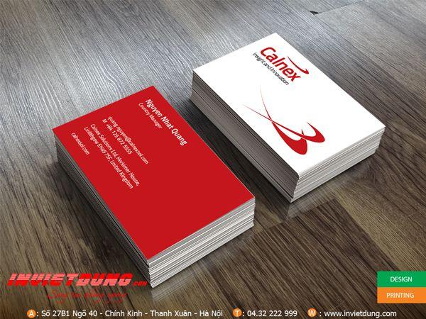 In card visit calnex