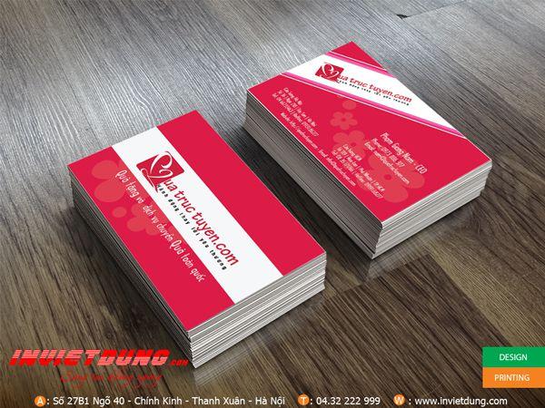 In card visit Quà tặng trực tuyến