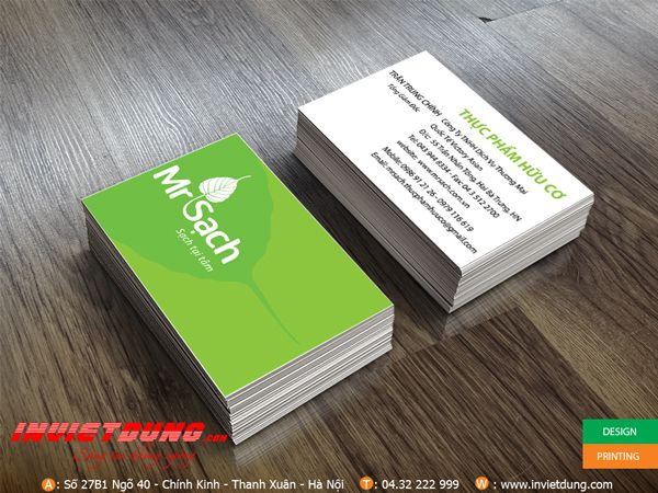 mẫu card visit giá rẻ đẹp