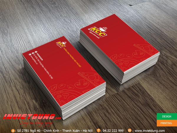 In Card visit đẹp - 2