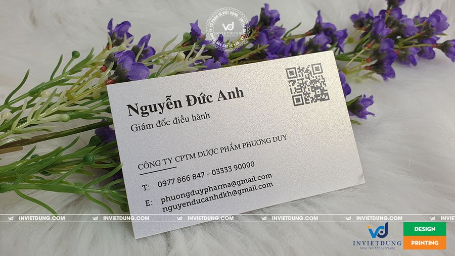 In name card giấy mỹ thuật