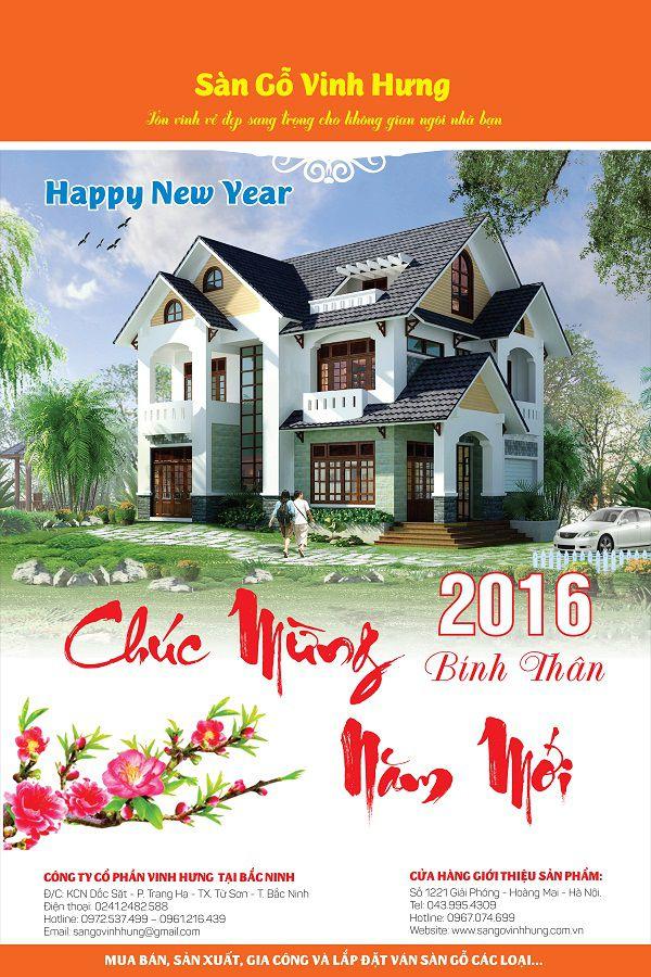 địa chỉ in lịch tết ở Hà Nội