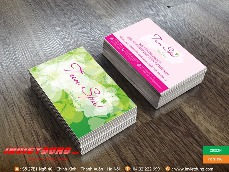 In name card spa