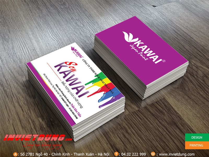 In name card đẹp