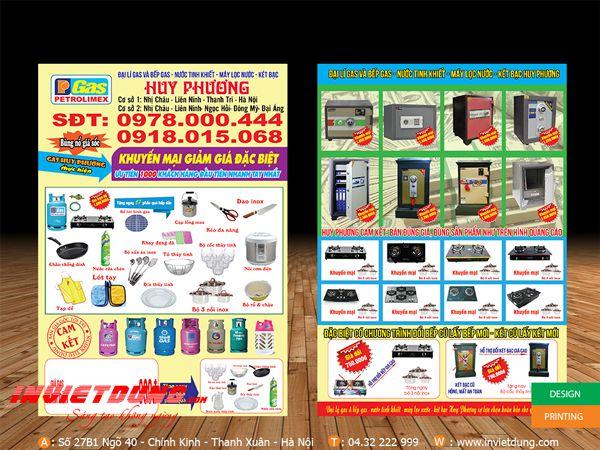 mẫu quảng cáo tờ rơi giá rẻ số 2